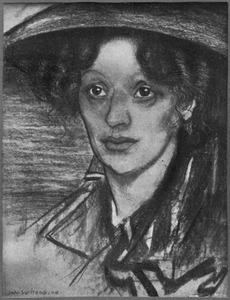 Portret van Bertha Langerhorst (1882-1955)