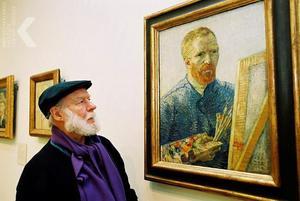Portret van Corneille met zelfportret van Vincent van Gogh