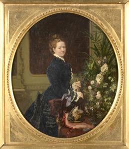 Portret van Henriette Steengracht (1839-1880)