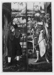 Jozef (links), Caspar (rechts) (uit een voorstelling met de Aanbidding van de Wijzen)