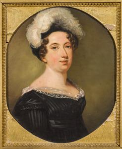 Portret van Anna Johanna Kops (1785-1825)