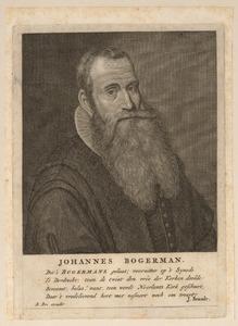 Portret van Johannes Bogerman (1576-1637)