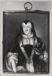 Portret van Wilhelmine Marie van Hessen -Homburg (1678-1770)