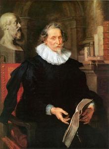 Portret van de Antwerpse humanist Ludovicus Nonnius/Núnez (ca. 1553-1645/46)