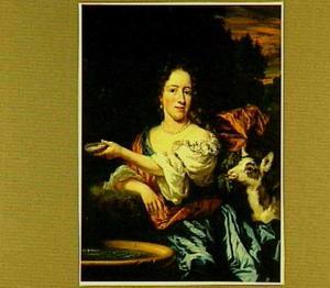 Portret van Sara Poelaert (1666-1740)