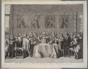 Willem III legt de eed als stadhouder af in 1672