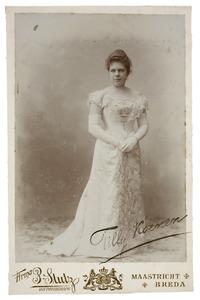 Portret van Tilly Koenen (1873-1941)