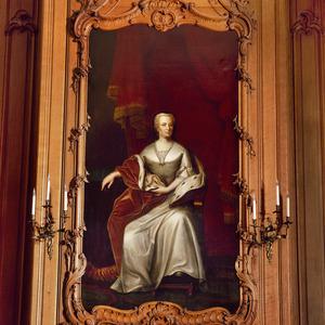 Portret van Maria Louisa van Hessen Kassel (1686-1765), genaamd Marijke Meu
