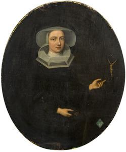 Portret van Josina Wilhelmina van Scherpenzeel (?-?)