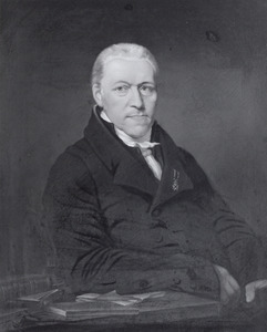 Portret van Maurits Cornelis van Hall (1768-1858)