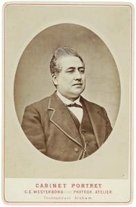 Portret van Gerard Louis d' Abo (1819-1905)