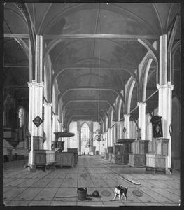 Interieur van de Grote Kerk te Hoorn