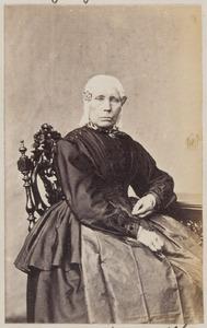 Portret van een vrouw uit familie Noordenbos