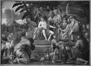 De verering van de jeugdige Bacchus