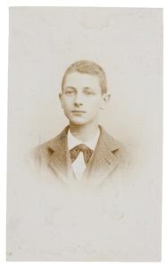 Portret van Willem Nicolaas Donkersloot (1879-...)