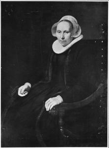 Portret van Diewer Jacobsdr. van Harencarspel (?-1645)