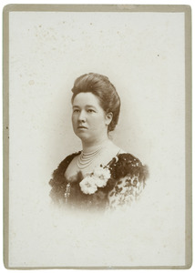 Portret van Augustine Wilhelmine Louise Adrienne van Bylandt (1861-1916)