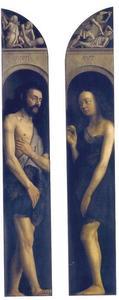 Adam en Eva (Lam Gods)