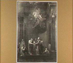 De opdracht in de tempel