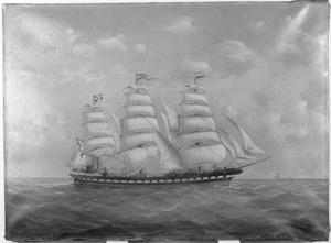 Het fregatschip 'Vondel'