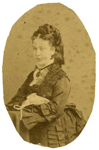 Portret van Elisabeth Maria de Bruyn (1853-1920)