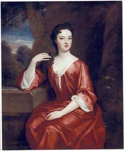 Portret van Lady Elizabeth Harley, Marchioness of Carmarthen