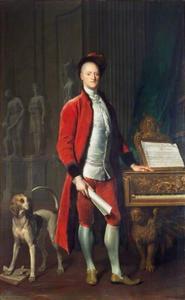 Portret van Carew Hervey Mildmay (1690–1784)