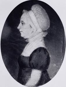 Portret van Fenna Arnolda Verbeek (1784-1863)