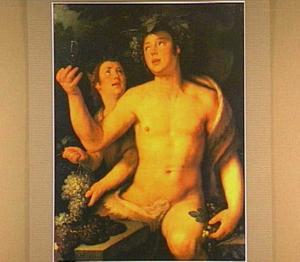 Bacchus en een sater