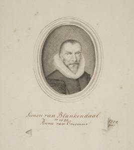 Portret van Simon van Blankendaal (1562-1610)