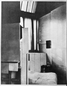 Het noorderlicht in het atelier van Piet Mondriaan