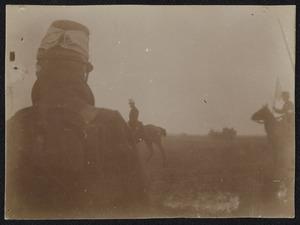 Groep militairen tijdens een manoeuvre