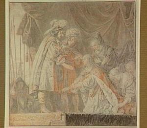 Alexander de Grote met de familie van Darius