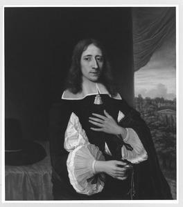 Portret van een van de gebroeders Van der Burch, mogelijk Willem van der Burch (1627-1712)