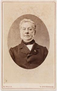 Portret van Otto Willem Hora Siccama (1805-1879)
