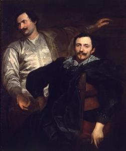Dubbelportet van de broers Lucas (1591-1661) en Cornelis (1592-1667) de Wael, schilders te Genua