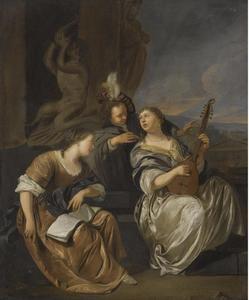 Elegant musicerend gezelschap
