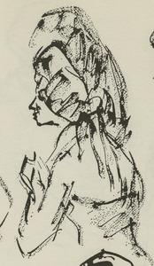 Portret van Mia Goossen (1925-1970)