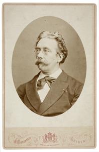 Portret van Alexander Hugo Bakker Korff