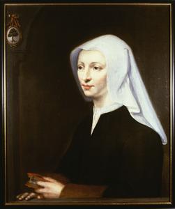 Portret van Lijsbeth Berkhout