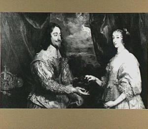 Dubbelportret van koning Karel I en koningin Henriëtte Maria van Engeland