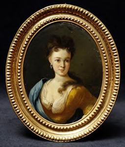 Portret van Amarantha Catharina de Raet van Kerchem (1694-1678)