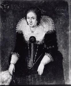 Portret van  Petronella Elisabeth Schade (?-1643)