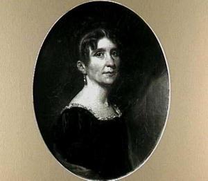 Portret van Wilhelmina Jacoba van Hoorn (1776-1799)