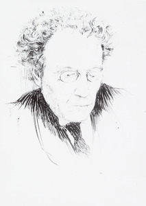 Portret van Johan Frans van Bemmelen (1859-1956)