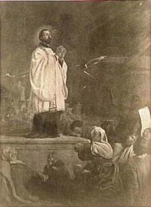 De heilige Franciscus Xaverius
