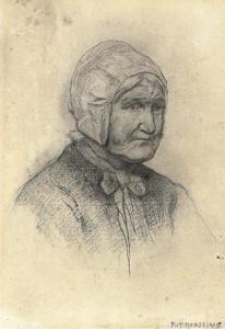 Head of an Achterhoek farm woman