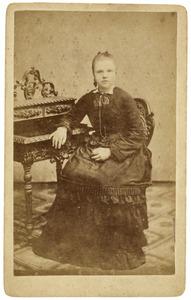 Portret van Grietjes Dijk (1855-1886)