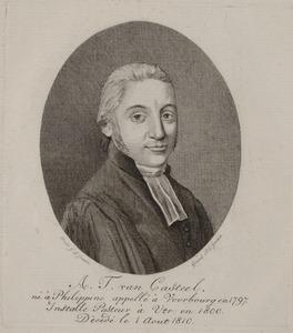 Portret van A.T. van Casteel (1770-1810)
