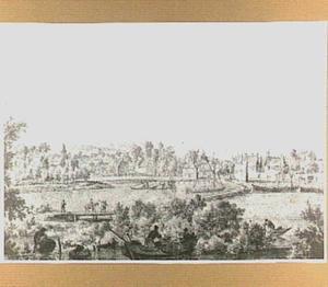De oude haven van Arnhem